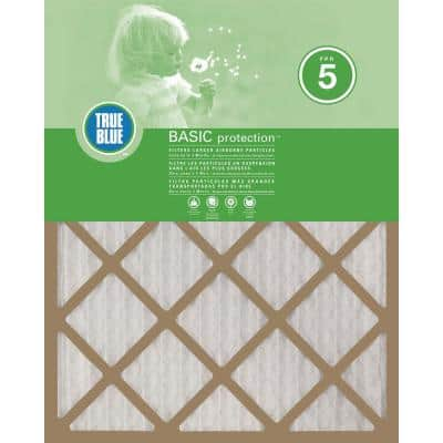10  x 30  x 1  Basic FPR 5 Pleated Air Filter (12-Pack)