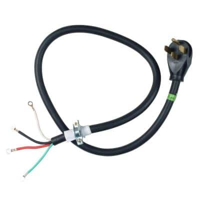 4 ft. 4-Wire 30 Amp Dryer Cord