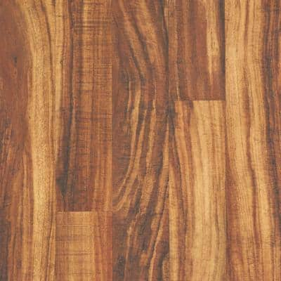 Outlast+ 5.23 in. W Hawaiian King Koa Waterproof Laminate Wood Flooring (480.9 sq. ft./pallet)