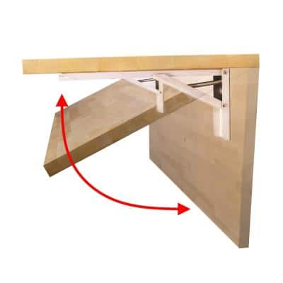 The Quick Bench 4 ft. Folding Workbench UV Finish