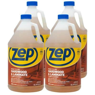 1 Gallon Hardwood and Laminate Floor Cleaner (Case of 4)