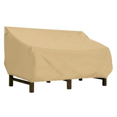 Terrazzo 60 in. L x 42 in. W x 34 in. H Deep Seated Patio Loveseat Cover
