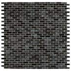 Glissen 12 in. x 12 in. x 6mm Glass Mesh-Mounted Mosaic Tile (15 sq. ft./case)