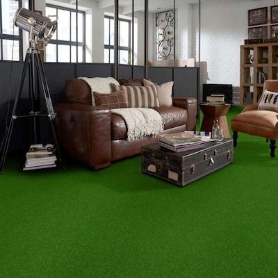 Toulon - Color Meadow Indoor/Outdoor Texture Green Carpet