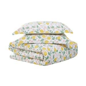 Verbena 3-Piece Multi-Colored Cotton King Comforter Set