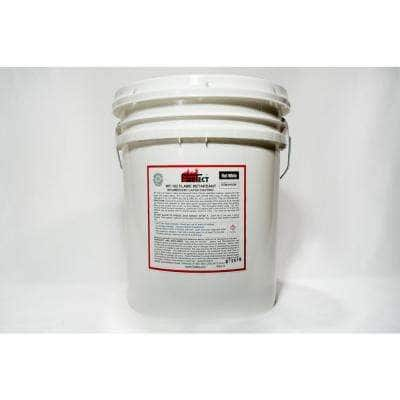 WT-102 5 gal. White Flat Latex Intumescent Fireproofing Flame Retardant Paint Coating for Wood
