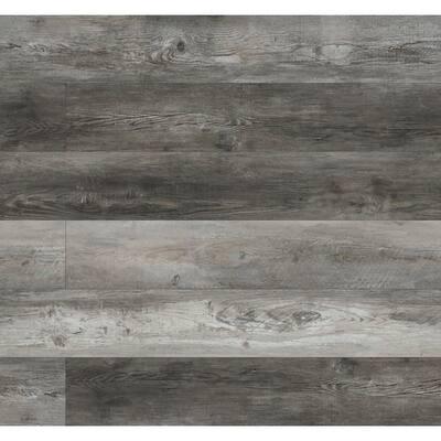 Keena Chateau 7.13 in. W x 48.03 in. L Rigid Core Luxury Vinyl Click Lock Plank Flooring (23.77 sq. ft./case)