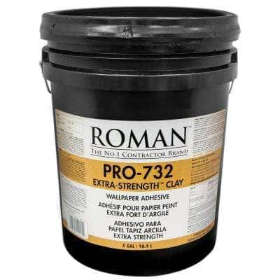PRO-732 5 gal. Extra Strength Wallcovering Adhesive