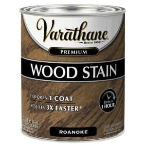 1 qt. Roanoake Premium Fast Dry Interior Wood Stain (2-Pack)