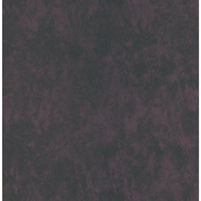Leather Textured Deep Purple Wallpaper Sample