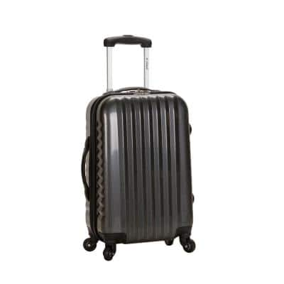 Melbourne 20 in. Expandable Carry On Hardside Spinner Luggage, Carbon