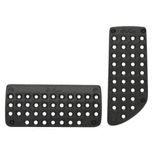 Titanium Truck and SUV Universal Pedal Pads in Black