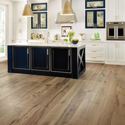 Boardwalk Willow 1/2 in. T x 7 in. W x Varying Length Water Resistant Engineered Hardwood Flooring (23.58 sq. ft.)