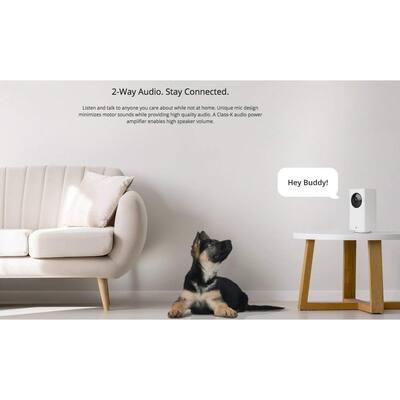 1080p WyzeCam Pan/Tilt/Zoom Wi-Fi Indoor Smart Home Camera, Night Vision, 2-Way Mic, Alexa Ready, 14 Day Cloud