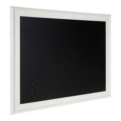 Alysia White Chalkboard Memo Board