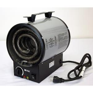 240-Volt 4000-Watt Portable Shop Heater in Gray