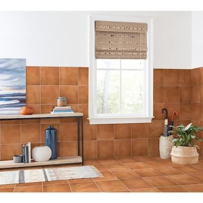 Delrona Saltillo Matte 12 in. x 12 in. Glazed Ceramic Floor and Wall Tile (10.67 sq. ft./Case)