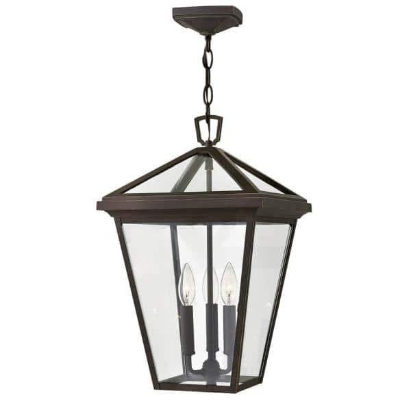Hinkley Lighting Alford Place Large Oil Rubbed Bronze Outdoor Hanging Lantern 2562oz The Home Depot