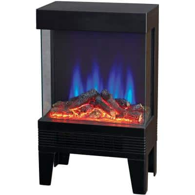 Heater Stove with 3 Sided Flame View