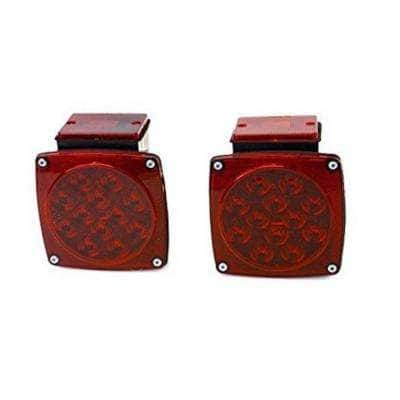 12-Volt ALL LED Submersible Trailer Tail Lights (Turn/Stop/Signal-Left/Right - DOT Compliant)