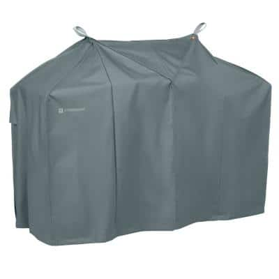 Storigami 58 in. L x 30 in. W x 48 in. H Easy Fold BBQ Grill Cover Monument Grey