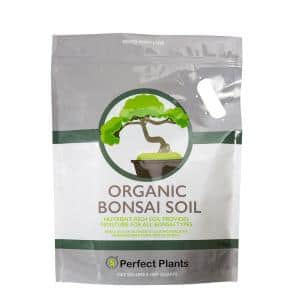 8 Qt. Organic Bonsai Soil Mix - Premium Balanced Long Term Soil Blend