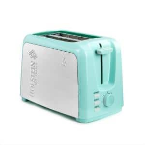 Everyday 750-Watt 2-Slice Glossy Mint Wide Slot Toaster