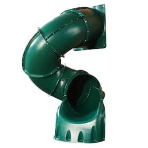 5 ft. Green Turbo Tube Slide