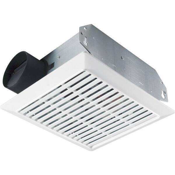 Broan Nutone 70 Cfm Wall Ceiling Mount Bathroom Exhaust Fan 695 The Home Depot