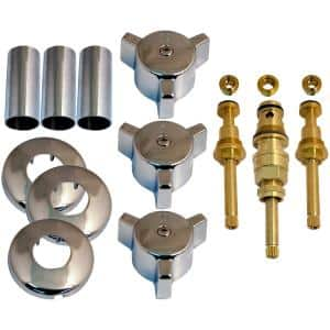 Tub and Shower Rebuild Kit for Briggs Trim Line 3-Handle Faucets