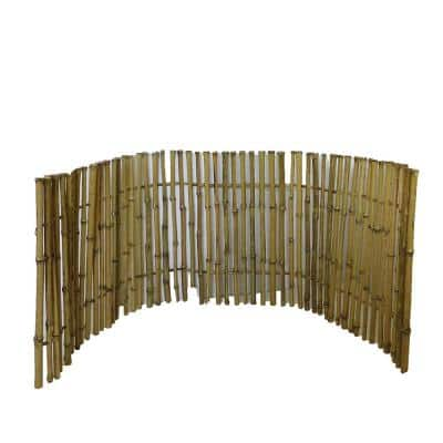 2 ft. H x 6 ft. L Bamboo Ornamental Fence