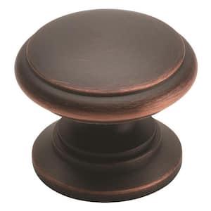 1-1/4 in. Oil Rubbed Bronze Cabinet Knob