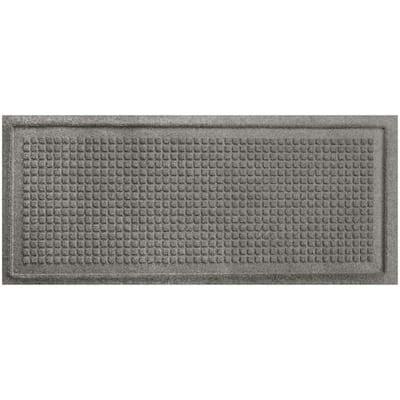 Aqua Shield Squares 15 in. x 36 in. Boot Tray Medium Grey
