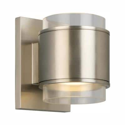 Upton Brushed Nickel LED Sconce