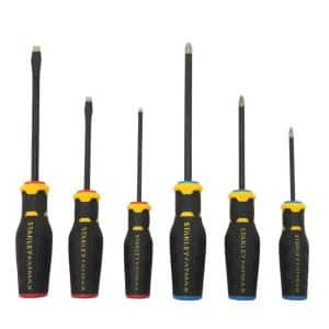 FATMAX Simulated Diamond Tip Standard and Phillips Screwdriver Set (6-Pieces)