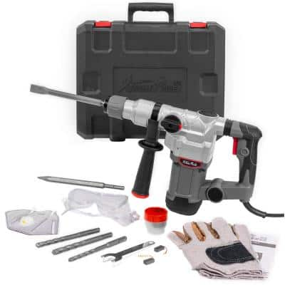 1 in. 600 RPM 15J SDS Electric Rotary Demolition Hammer Drill