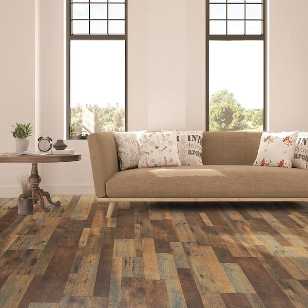 Pergo Xp Mountain Oak 8 Mm T X 7 48 In, Multi Colored Laminate Flooring