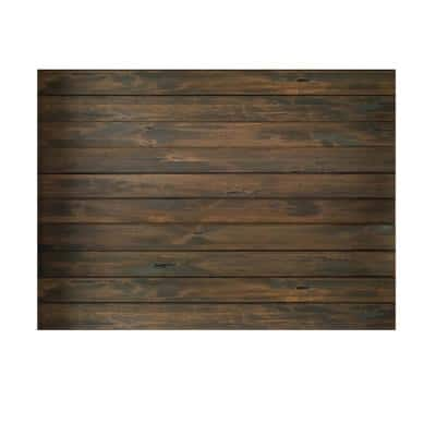 1 in. x 6 in. x 84 in. Espresso Knotty Alder tongue and groove Barn Wood Board (10-Pack)