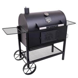 Judge Charcoal Smoker Grill in Black