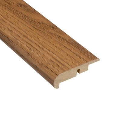 Hickory 7/16 in. Thick x 2-1/4 in. Wide x 94 in. Length Laminate Stairnose Molding