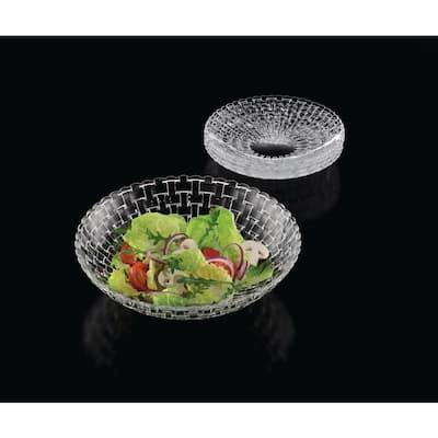 Bossa Nova 5-Piece Salad Set Clear