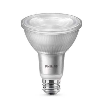 75-Watt Equivalent PAR30L Dimmable LED Light Bulb Flood Glass Daylight (5000K) (2-Pack)