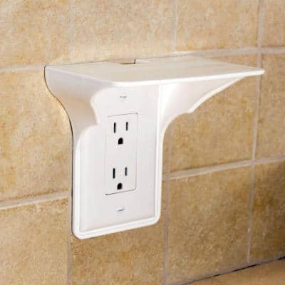 White No Gang Blank Plate Wall Plate