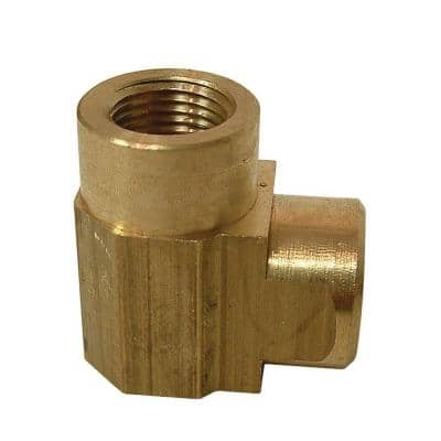 1/4 in. FIP 90-Degree Brass Elbow Fitting