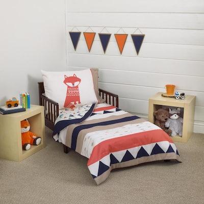 Aztec 4-Piece Toddler Bedding Set