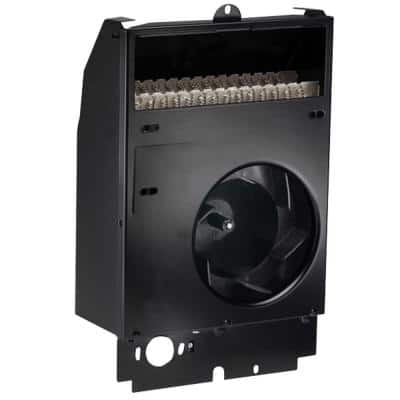 Com-Pak Wall Heater Assembly 5120 BTU 1500-Watt 240-Volt, Fan Forced Electric, No Stat