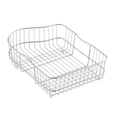 Hartland Wire Rinse Basket for Left-Hand Basin Sinks