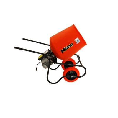 3.5 cu. ft. 3/4 HP 120-Volt Motor Direct Drive Cement Mixer