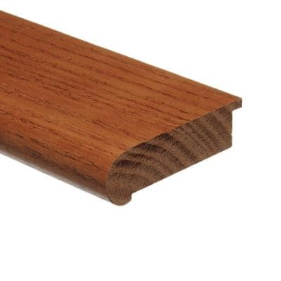 Marsh 3/4 in. Thick x 2-3/4 in. Wide x 94 in. Length Hardwood Stair Nose Molding Flush