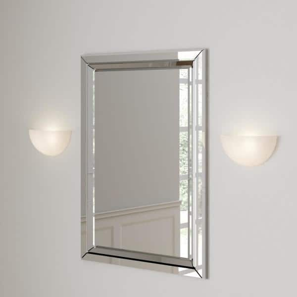 Millennium Lighting - White Alabaster Sleek and Unique Wall Sconce